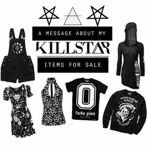 Other - KILLSTAR ITEMS IN MY CLOSET—INFO